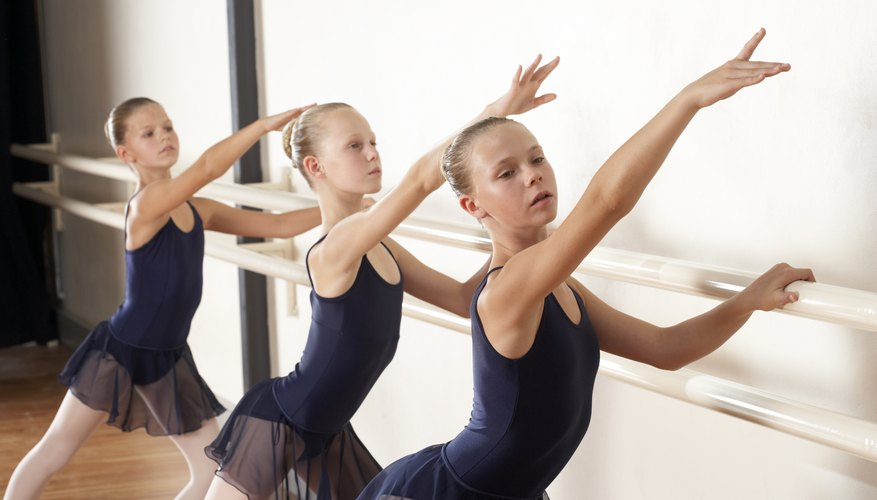 All ballet classes include exercises at the barre as well as in the center floor.