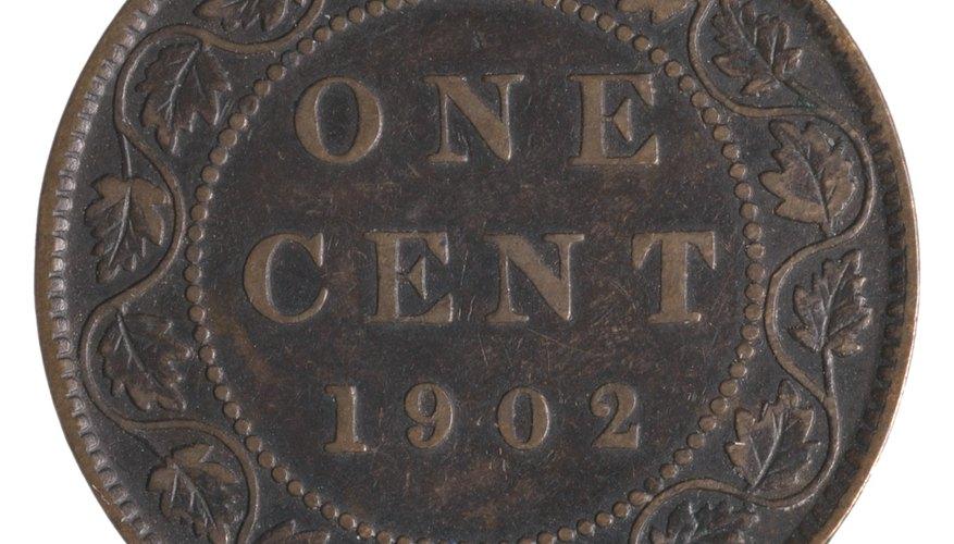 Moneda de un centavo.