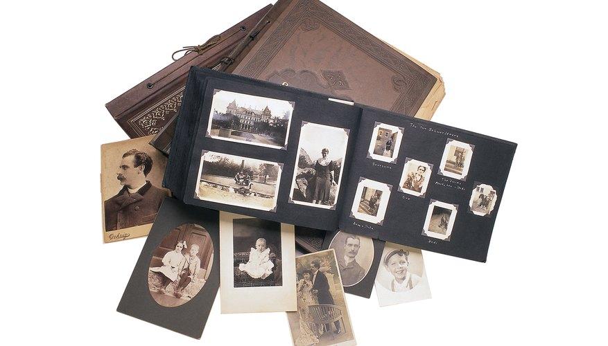 Crea un libros de fotos con la historia familiar.