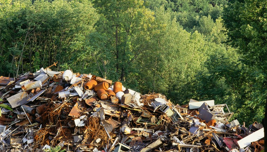 Much of what ends up in landfills could be reused or recycled.