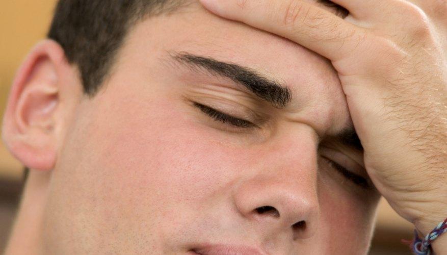 Sometimes a headache leads to nausea.