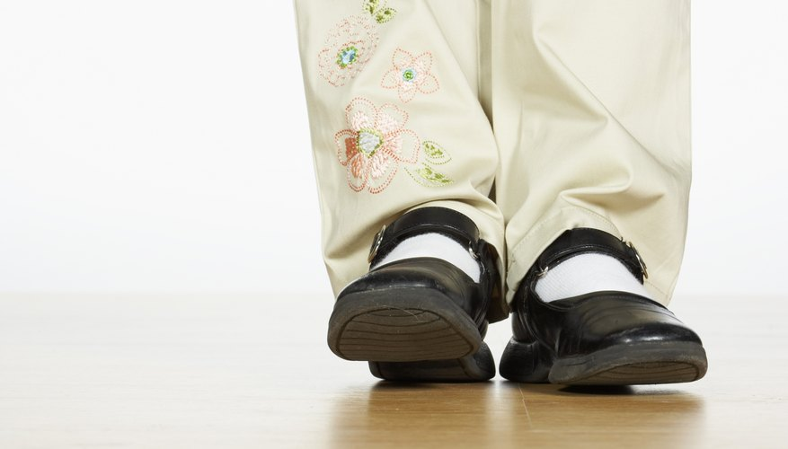Shoes that don't fit can cause pain as well as accidents.
