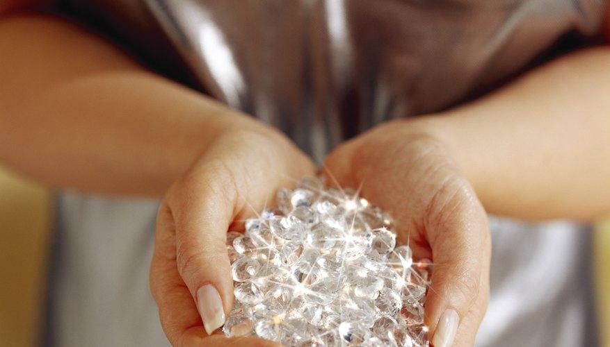 Los cristales pueden ser transformados en pantallas de lámpara.