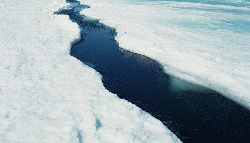 El efecto invernadero podría provocar un aumento en el nivel del mar.