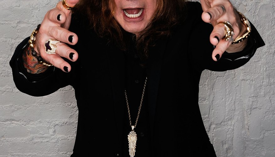 Metal singers, like Ozzy Osbourne, are famous for their distinctive vocal styles.