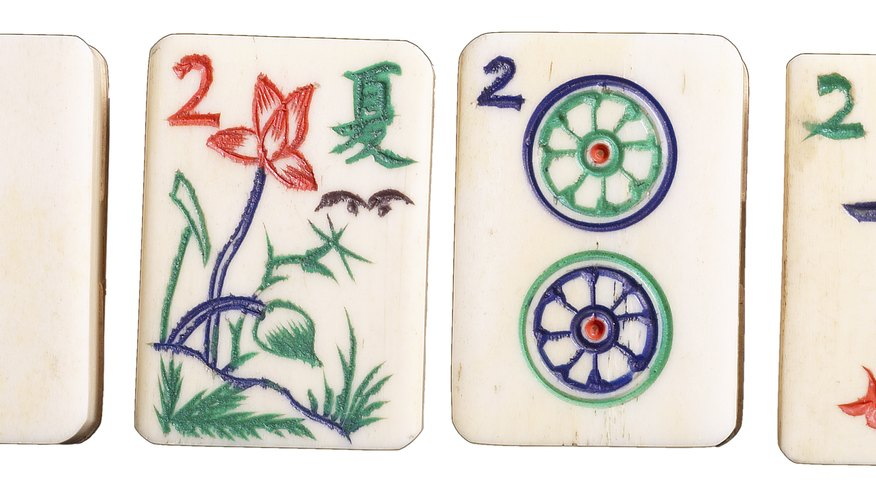Examples of the original mahjong tiles