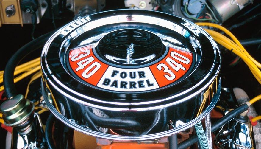 Motor de automóvil.