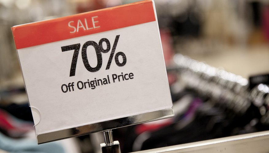 how to find discount price in math