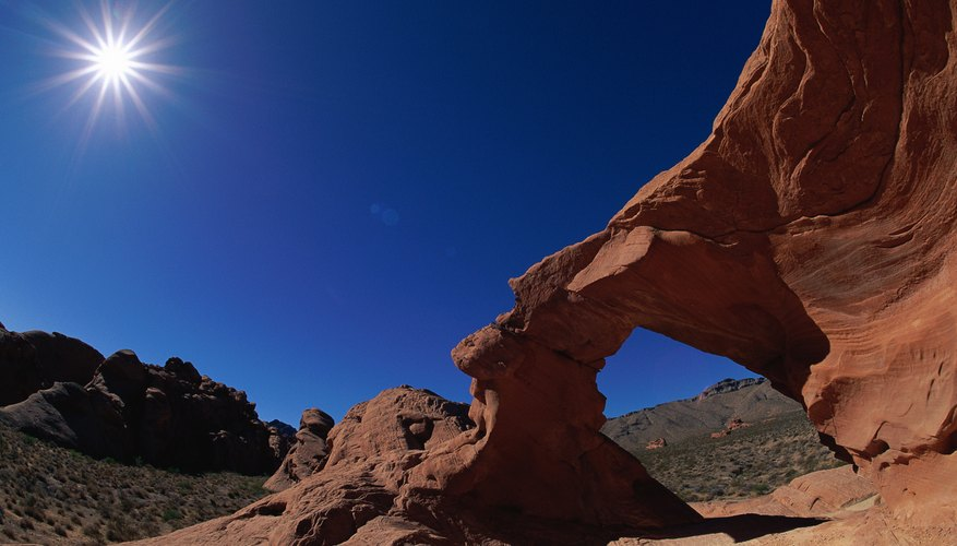heated rock formation