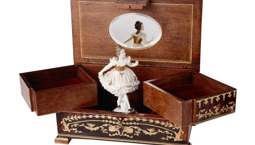 Music boxes are a popular form of jewelry storage.