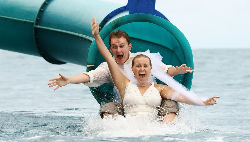 Water activities make for a splashy, fun-filled honeymoon.
