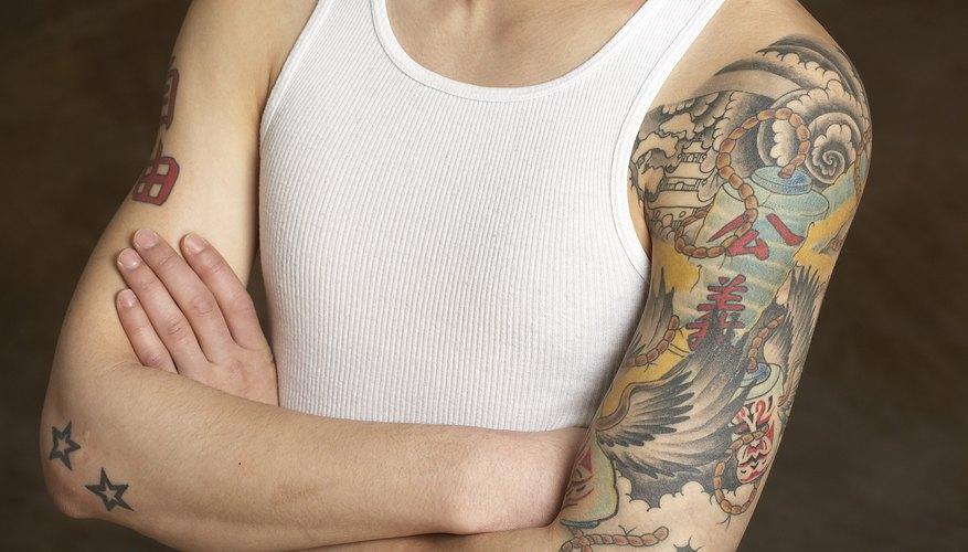 Algunos tatuajes podrían ser más difíciles de cubrir que otros.