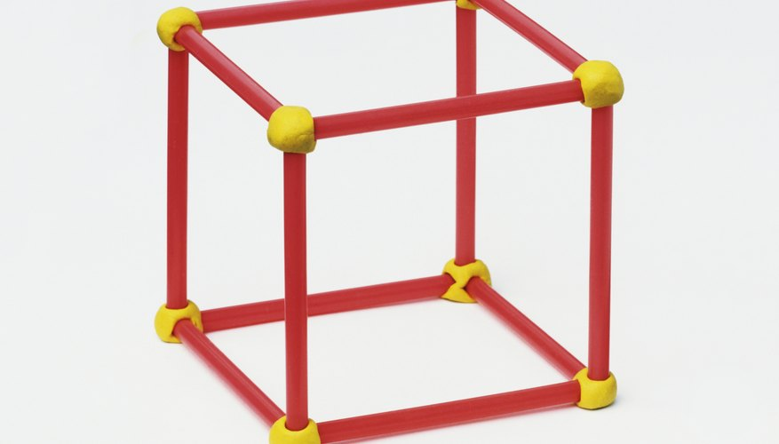 Each yellow dot is a vertex of this cube.