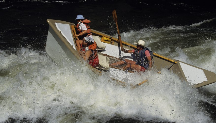 Bond over a parent-son white-water rafting adventure.