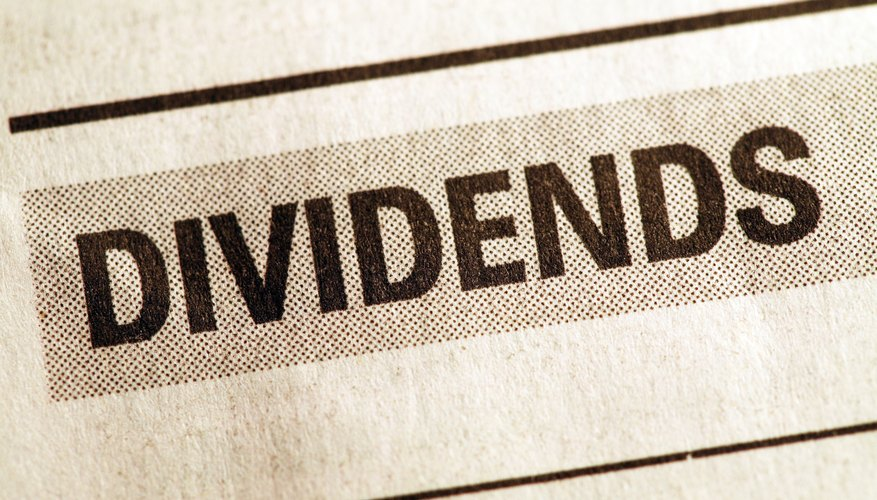 Many companies distribute their profits to shareholders through dividends.