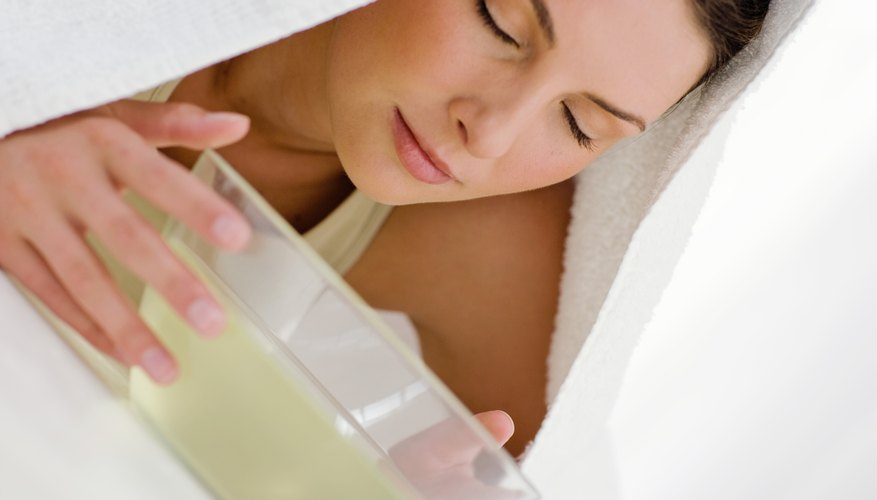 Woman taking natural cold remedy