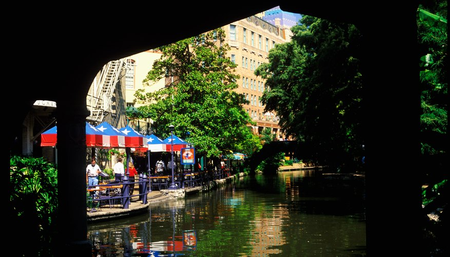 The Mokara is located along the restaurant-lined River Walk.