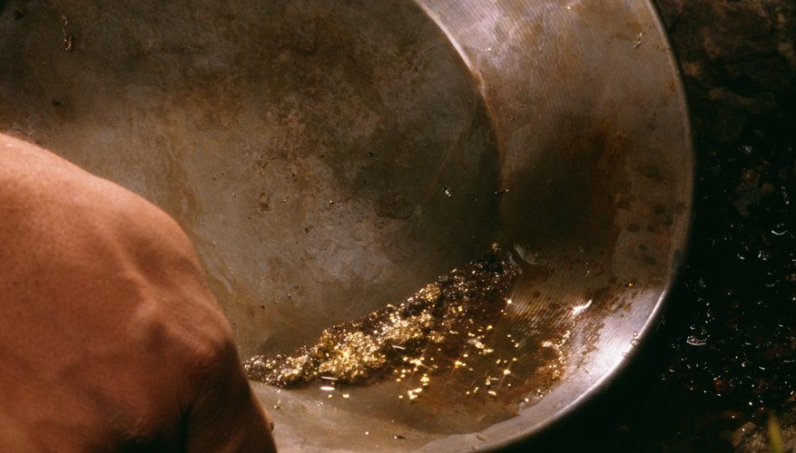 Separating gold from dirt is easy with the correct panning technique.