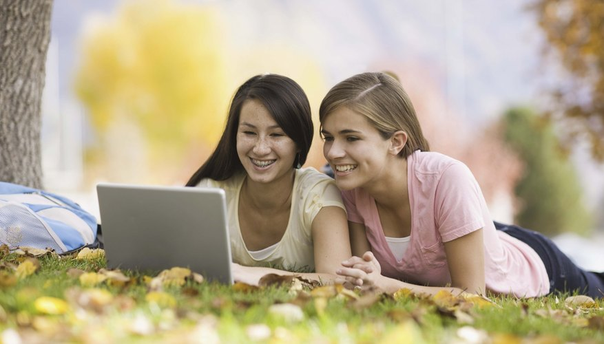 Most teens spend loads of time with electronic devices.