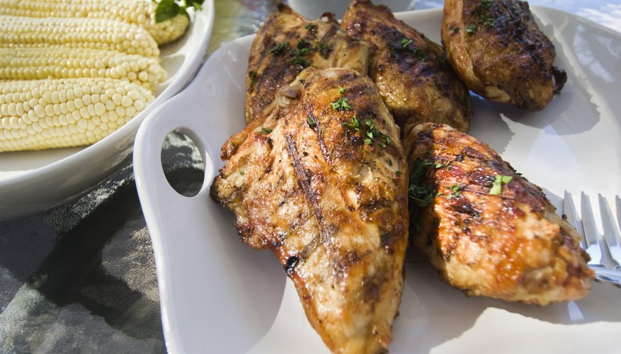 Chicken is one food high in zinc