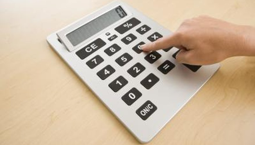A calculator is a useful tool for finding the mean, or average.
