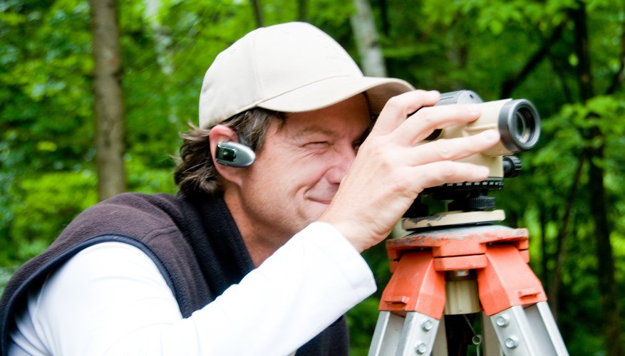 Surveyors commonly use theodolites on construction projects.