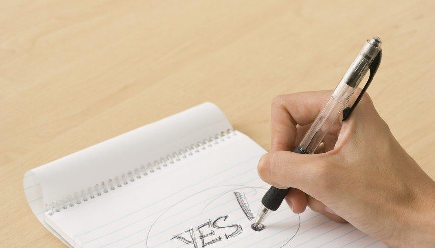 Escribe la primera palabra.