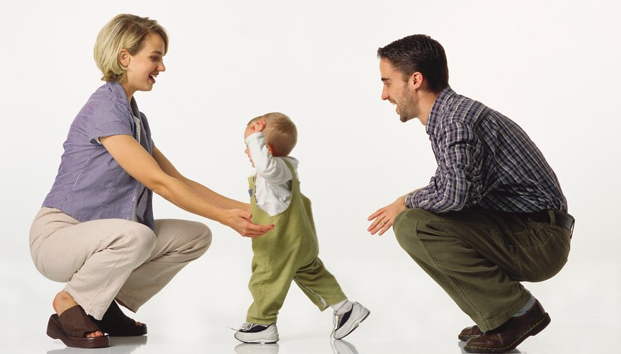 Learning to walk and talk is a process that builds on earlier skills.