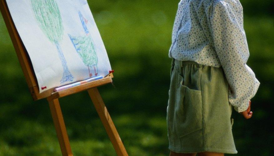 Anima a tu hijo a apreciar las obras de arte y a enorgullecerse de  su trabajo.