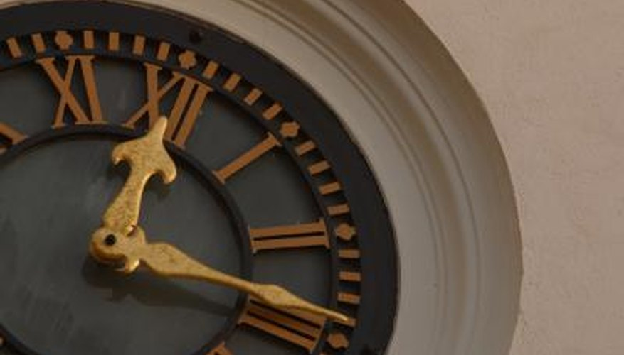 Clock hands are usually simple to remove with a minimum of technique.