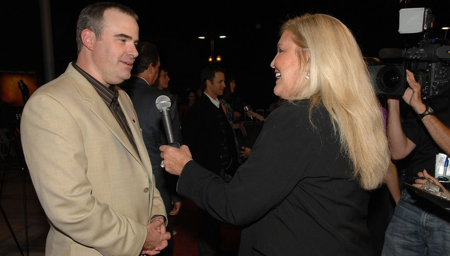 Alex Kendrick during an interview at the premiere of his film,