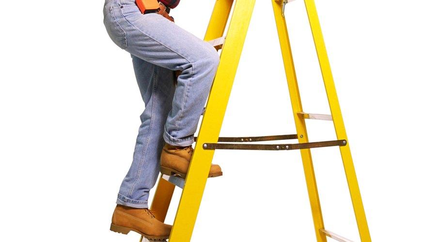 Necesitarás una escalera para este paso.