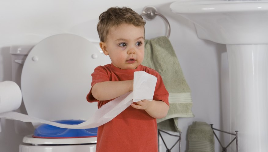 A very young child may take longer to potty train than an older child.