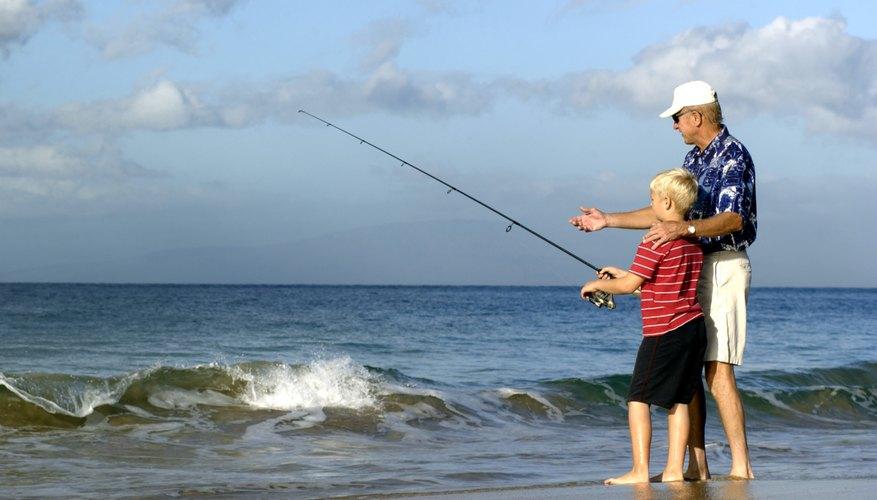 Surf Fishing in Gulf Shores, Alabama