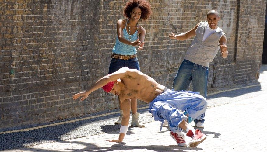 El break dance, danza urbana admirada por todos.
