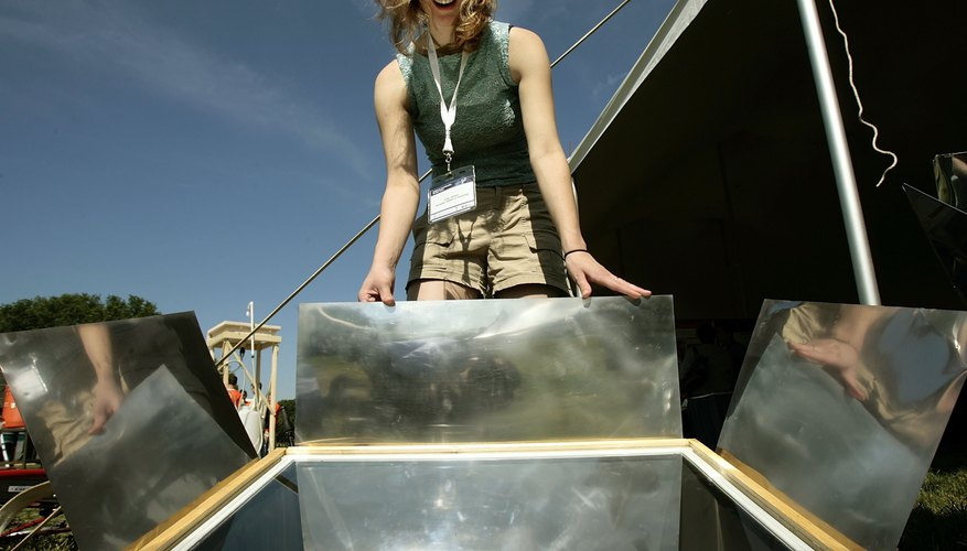 Solar ovens let you cook food when you cannot obtain firewood.