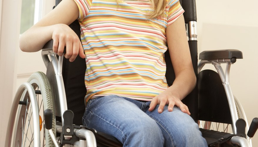 Kids in wheelchairs are capable of participating in many physical activities.