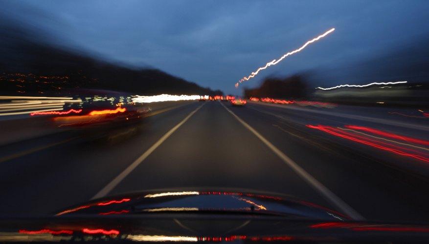 Asegúrate de poder conducir con visión clara.
