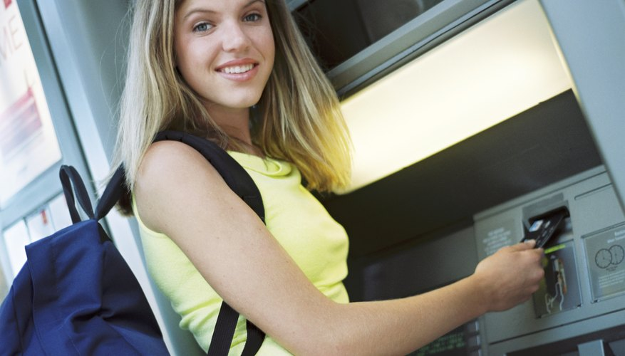 Keeping a watchful eye on your surroundings is a good idea when using an ATM.