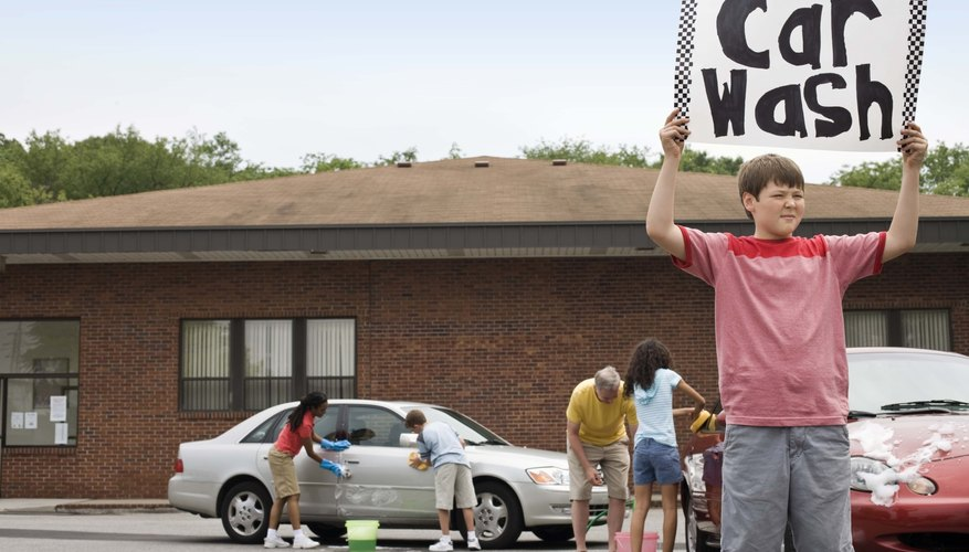 Deducting money donated to a charity car wash may be disallowed without documentation.