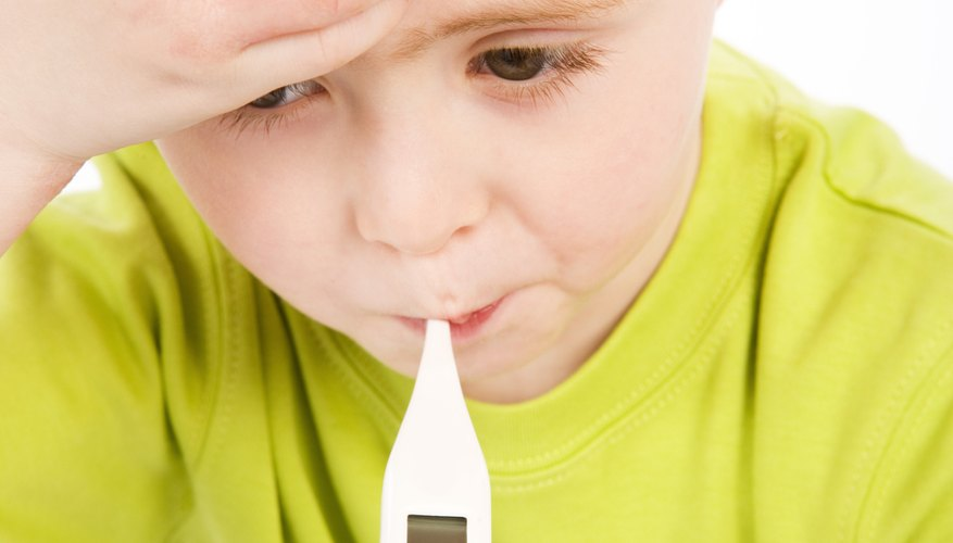 Feverish or fine -- a thermometer can tell you.