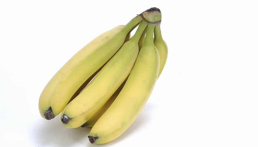 Some foods, such as bananas, can help babies sleep.