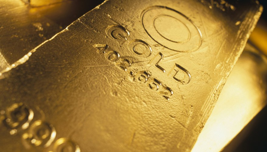 Gold mutual funds may invest in companies that mine, refine or own gold.