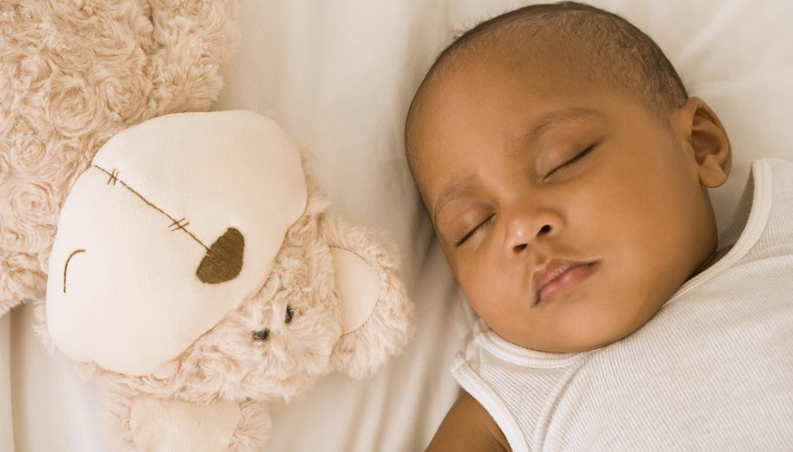 Babies sleep longer as they grow and gain weight.