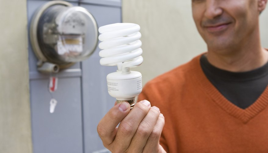 Energy-saving light bulbs can help reduce your power consumption.