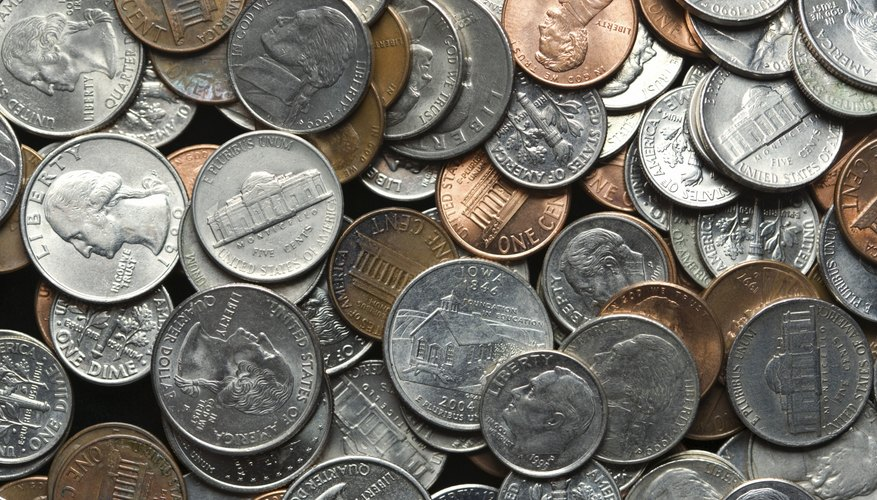 It is a good idea to inspect coins for value or rarity before repurposing for a craft project.
