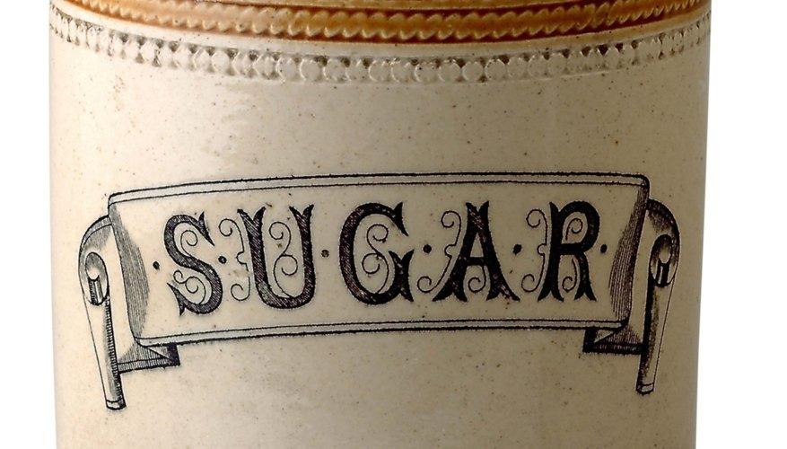 La sacarosa es el azúcar de mesa.