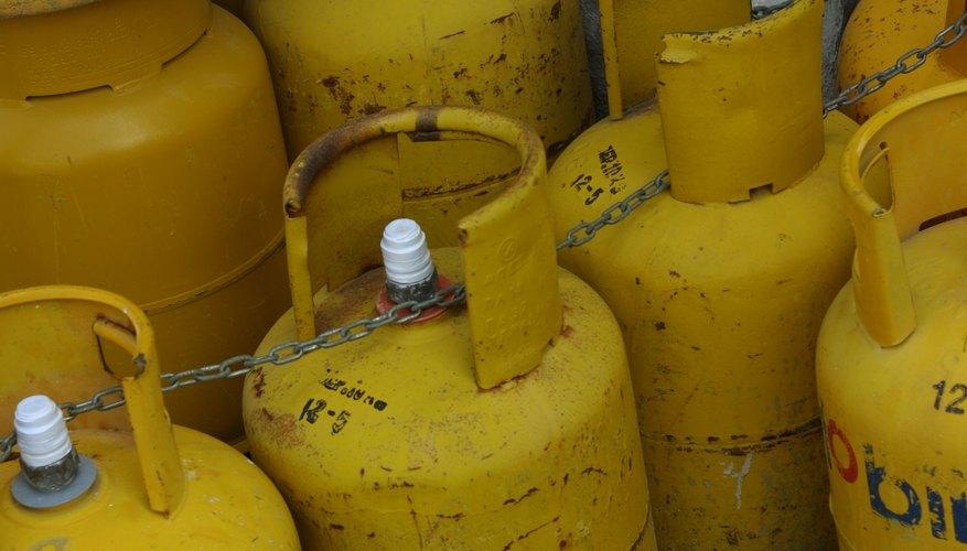 Regulaciones de los cilindros de gas.