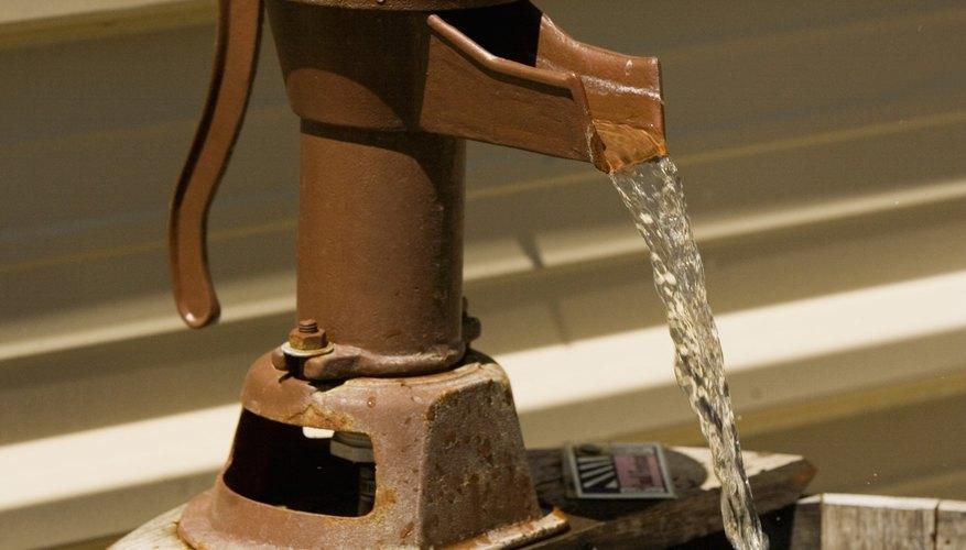 El agua de pozo es esencial para aquellos que no viven en un área donde los sistemas públicos están disponibles.
