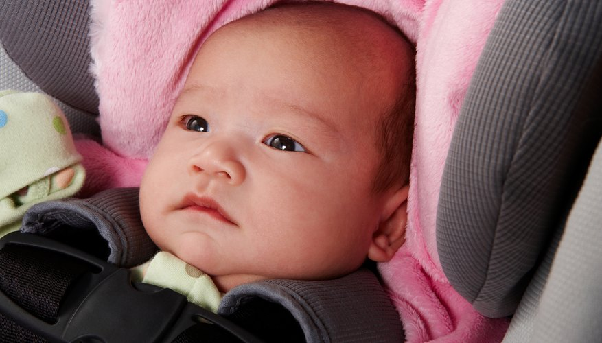Disable the airbag before using an infant seat in the front of a pickup truck.